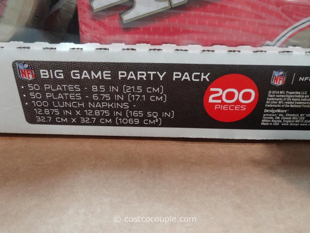 NFL 49ers Big Game Party Pack Costco 2