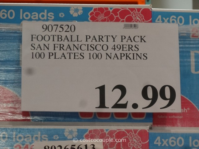 NFL 49ers Big Game Party Pack Costco 3