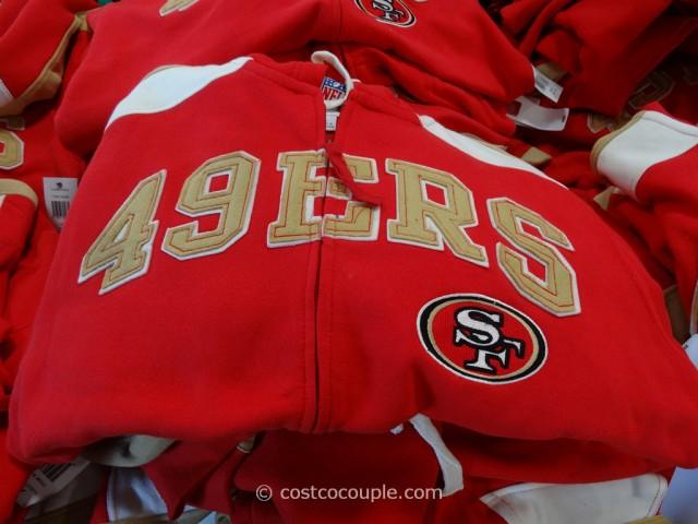 NFL 49ers Hoody Costco 1