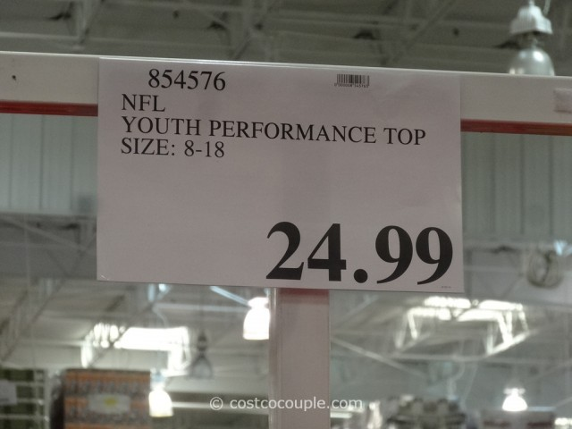NFL Youth Performance Top Costco 1