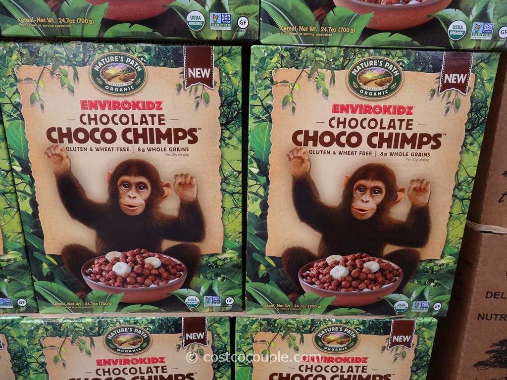 Natures Path Organic Chocolate Choco Chimps Costco 3