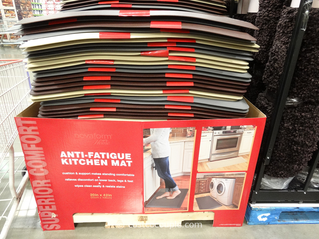 Novaform Anti-Fatigue Kitchen Mat Costco 1