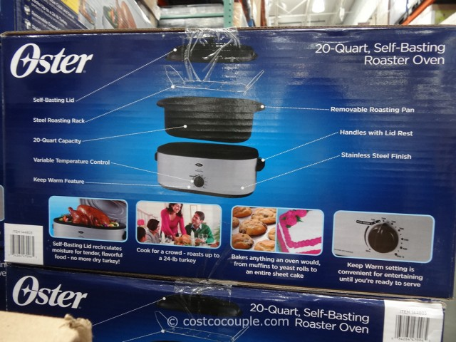 Oster 20-Quart Stainless Steel Roaster Costco 1