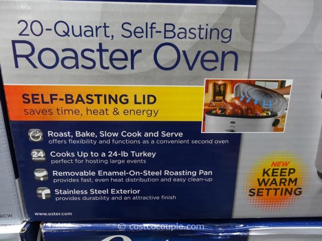 Oster 20 Quart Stainless Steel Roaster