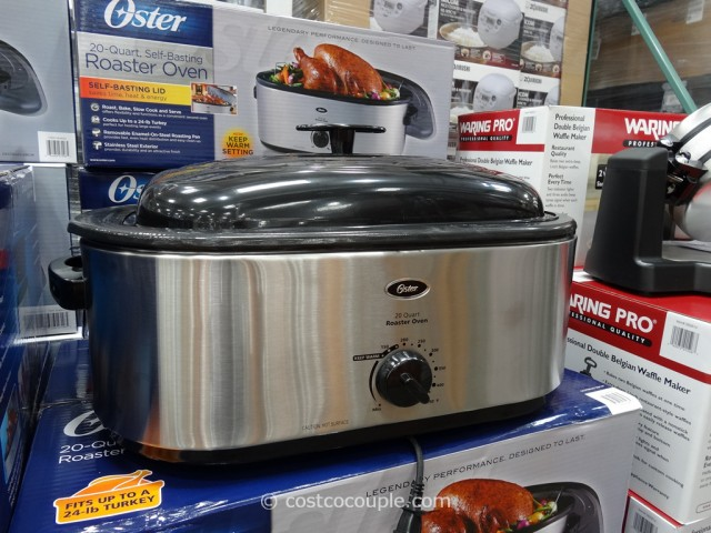 Oster 20-Quart Stainless Steel Roaster Costco 5