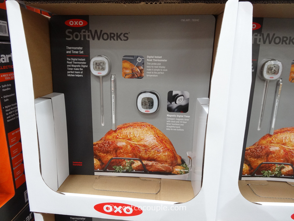 Oxo Digital Thermometer and Magnetic Timer Set Costco 2