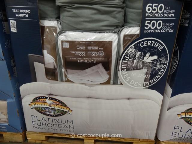 Pacific Coast Platinum European Down Comforter Costco 4