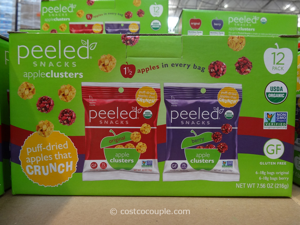 Peeled Snacks Apple Clusters Costco 1