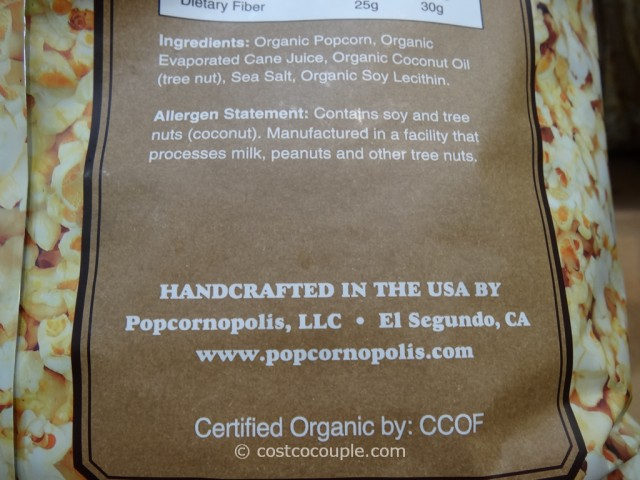 Popcornopolis Organic Kettle Corn Costco 4