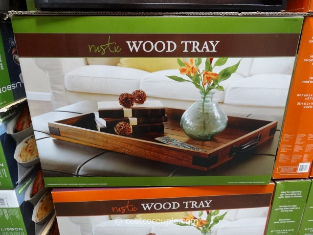 Rustic Wood Tray Costco 3