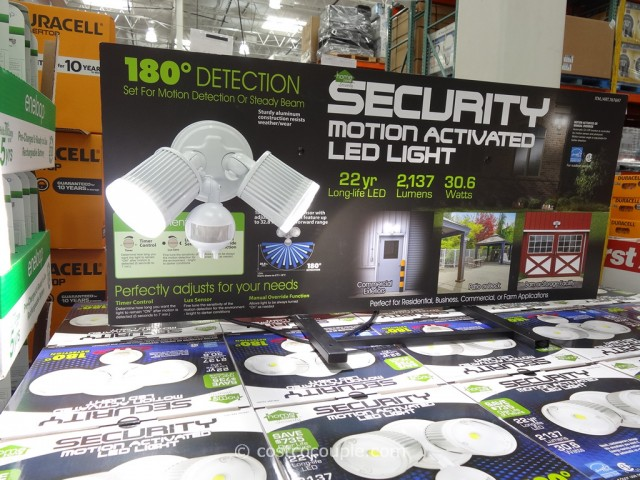 Security Motion Activated LED Light Costco 1