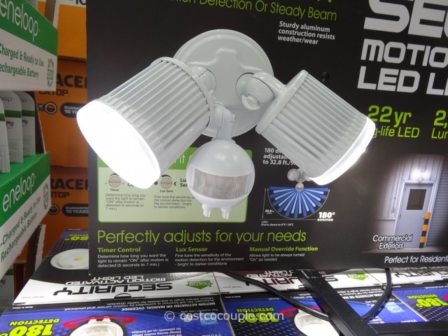 Security Motion Activated LED Light Costco 3