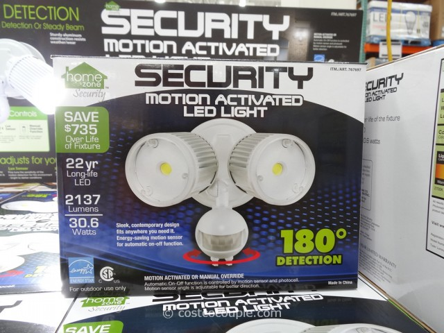 Security Motion Activated LED Light Costco 5