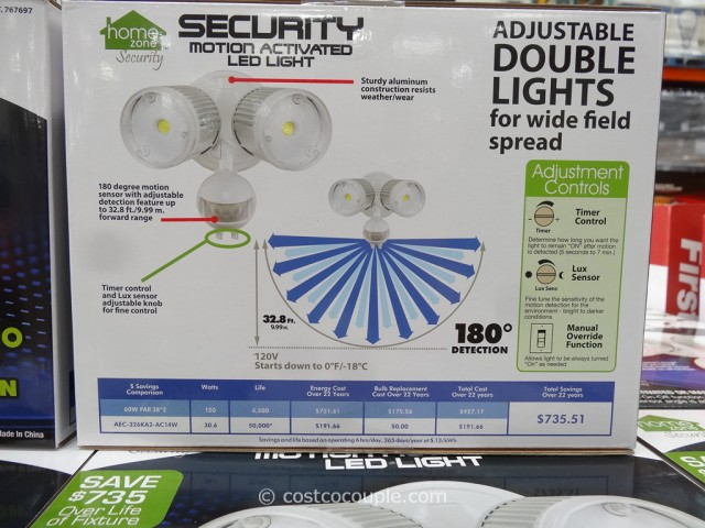 Security Motion Activated LED Light Costco 6
