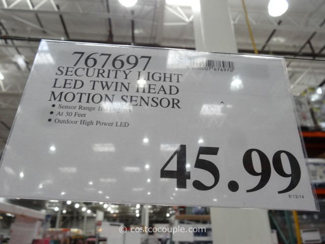 Security Motion Activated LED Light Costco 7