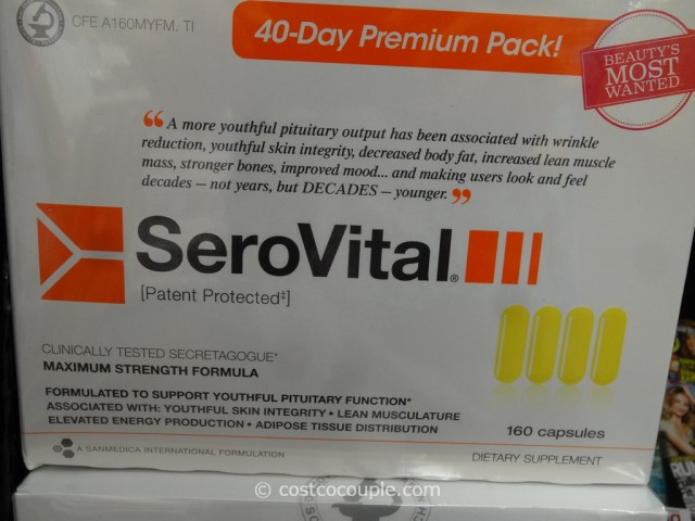 Serovital 40 Day Premium Pack