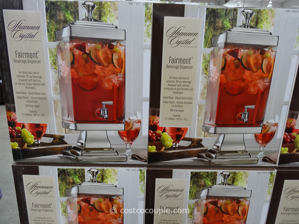 Shannon Fairmont Beverage Dispenser Costco 2