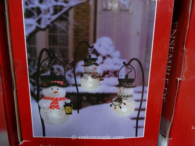 Snowman Pathway Lights Costco 5