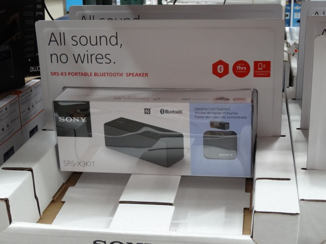 Sony Portable Bluetooth Speaker Costco 2