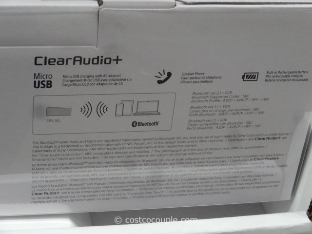 Sony Portable Bluetooth Speaker Costco 5