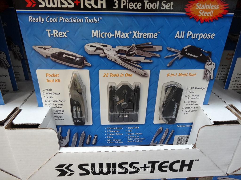 Swiss+Tech 3-Piece Tool Set Costco 3