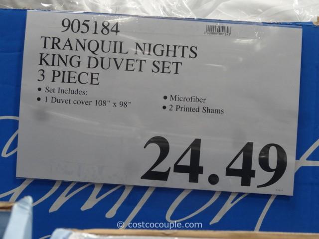 Tranquil nights King Duvet Set Costco 1