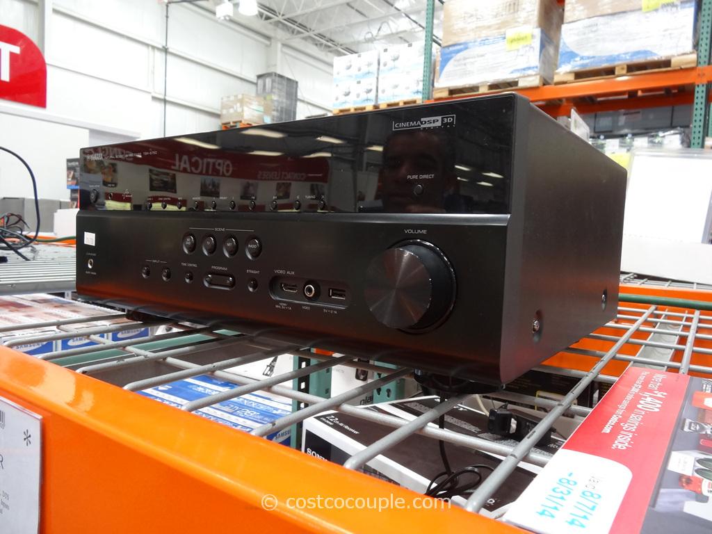 Yamaha TSR06750 Audio Receiver Costco 3