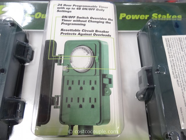 24Hour Timer Power Stakes Costco 3