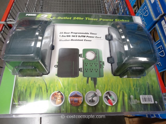 24Hour Timer Power Stakes Costco 4