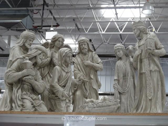 9-Piece Outdoor Nativity Set Costco 2