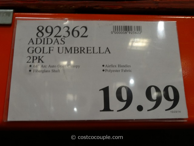 ... Adidas Golf Umbrella Set Costco 1 - Adidas Golf Umbrella Set
