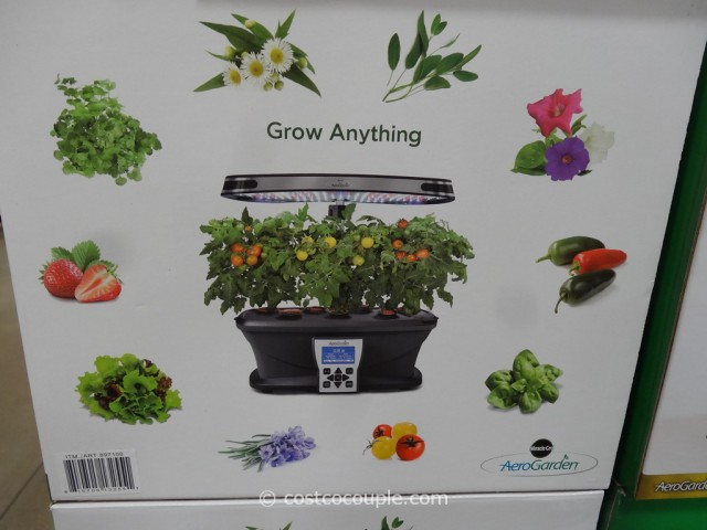 AeroGarden Ultra LED Soil Free Indoor Garden Costco 3