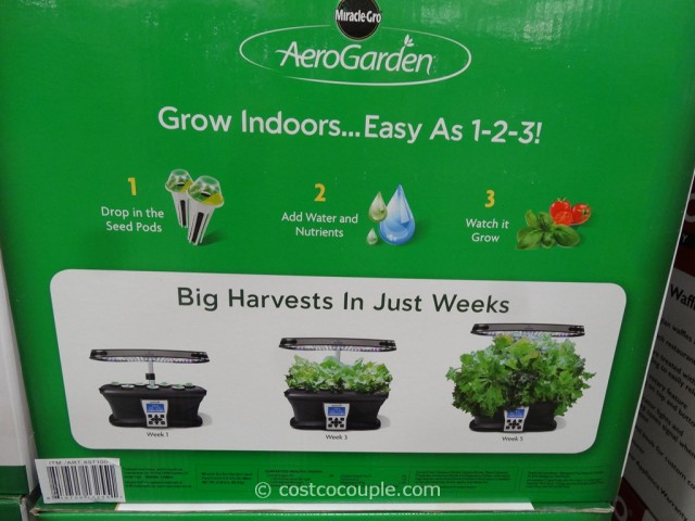 AeroGarden Ultra LED Soil Free Indoor Garden Costco 4