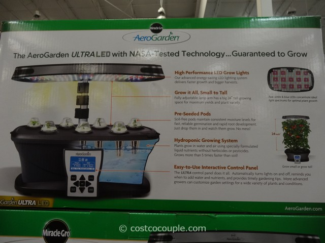 AeroGarden Ultra LED Soil Free Indoor Garden Costco 5