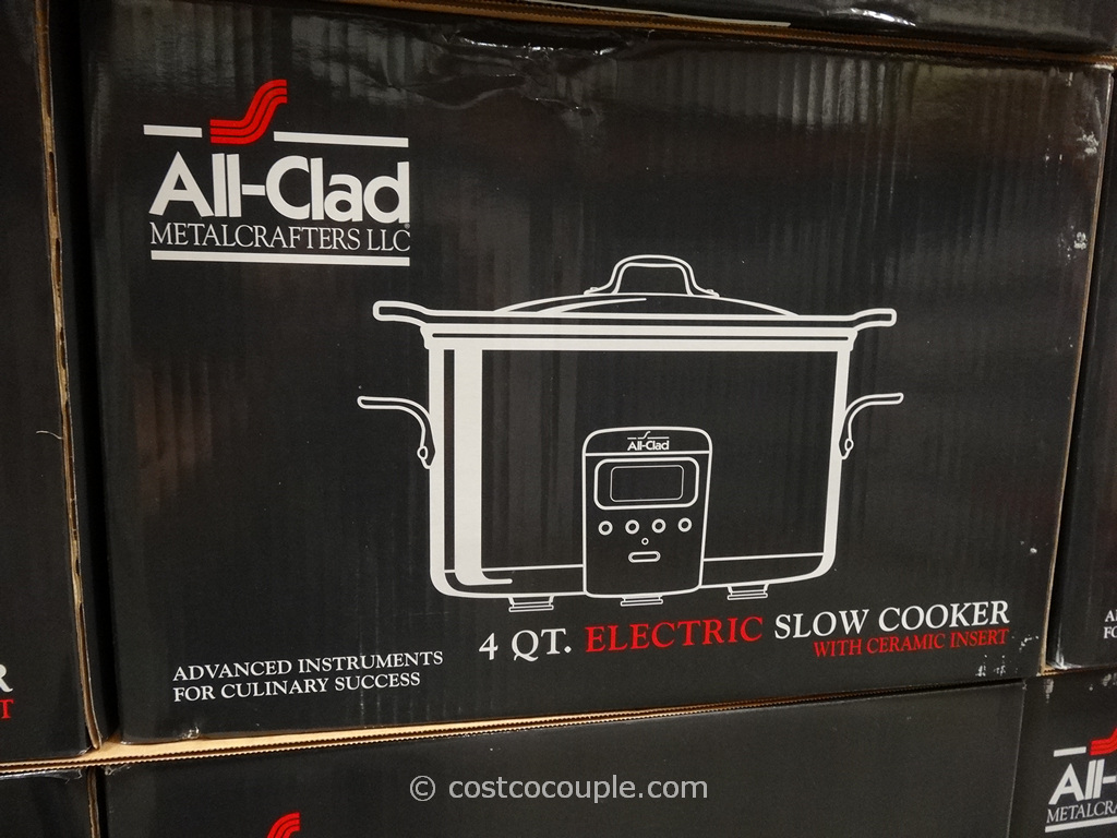 All Clad 4-Quart Stainless Steel Slow Cooker Costco 3