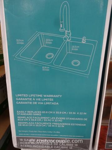 American Standard Stainless Steel Sink Costco 4