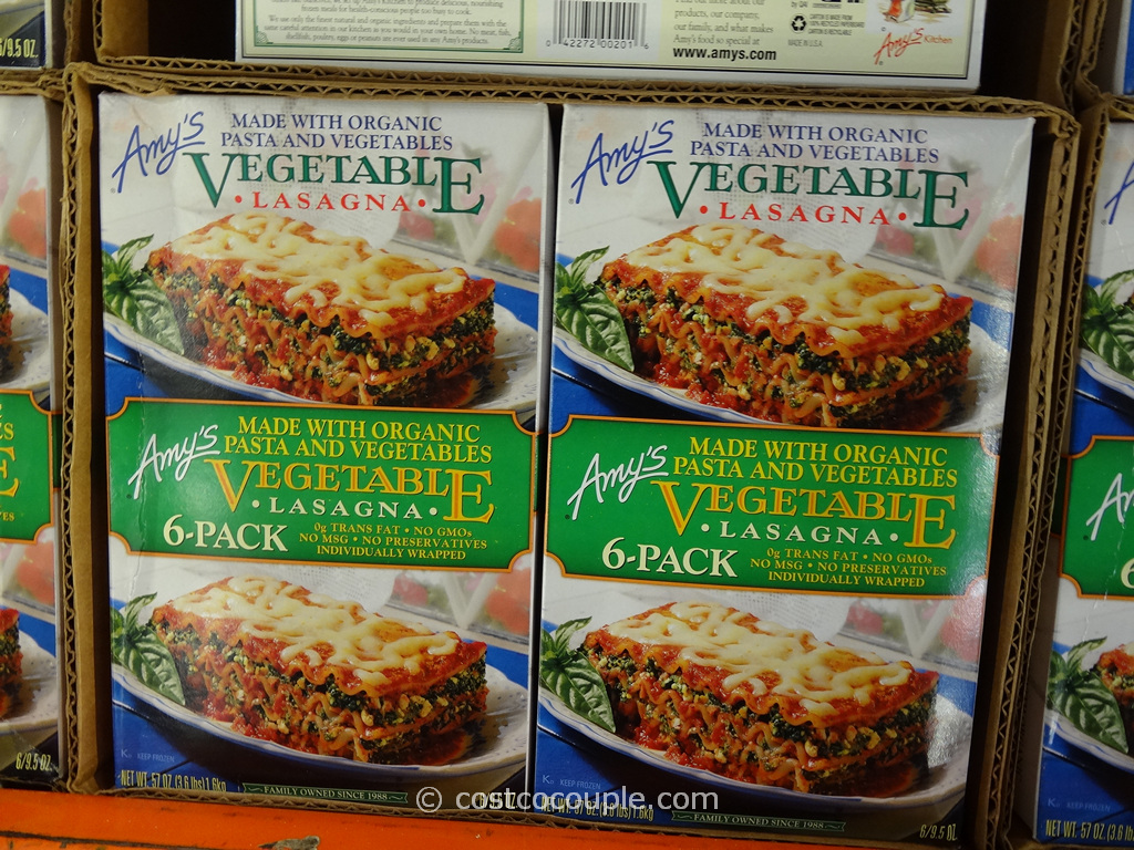 Amys Kitchen Vegetable Lasagna Costco 2