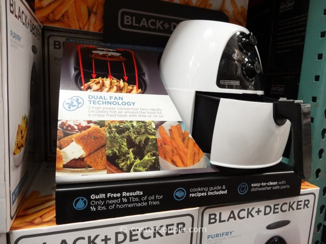 Black and Decker Purifry Air Fryer Costco 2