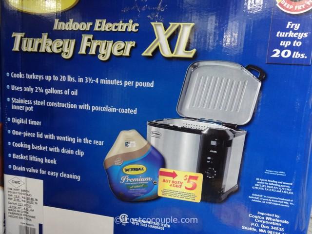 Butterball Indoor Electric Turkey Fryer Costco 4