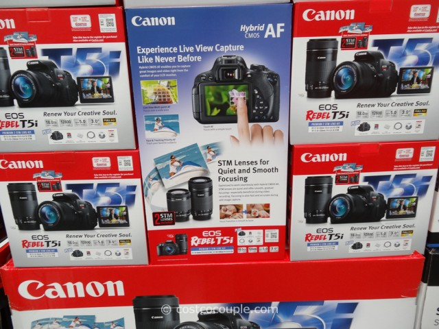 Canon EOS Rebel T51 DSLR Kit  Costco  2