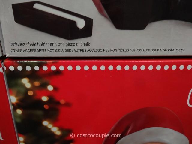 Chalkboard Santa Costco 2