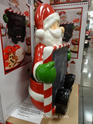 Chalkboard Santa Costco 5
