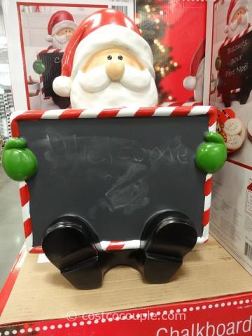 Chalkboard Santa Costco 6