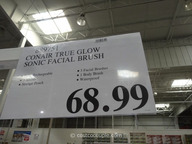 Conair True Glow Sonic Facial Brush Costco  1