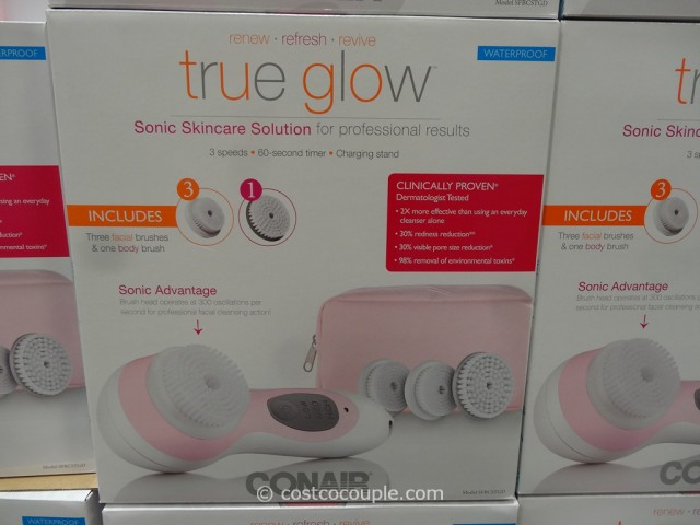 Conair True Glow Sonic Facial Brush Costco  4