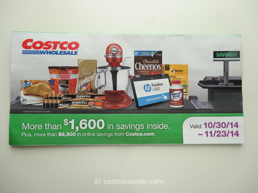 Costco November 2014 Coupon Book 1