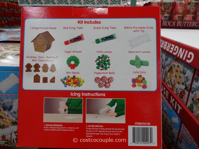 Create A Treat Pre Built Gingerbread House Kit