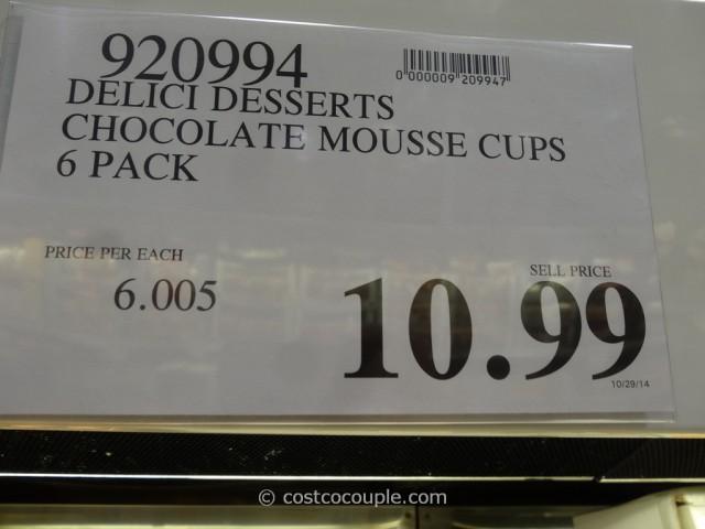 Delici Desserts Chocolate Mousse Cups Costco 1