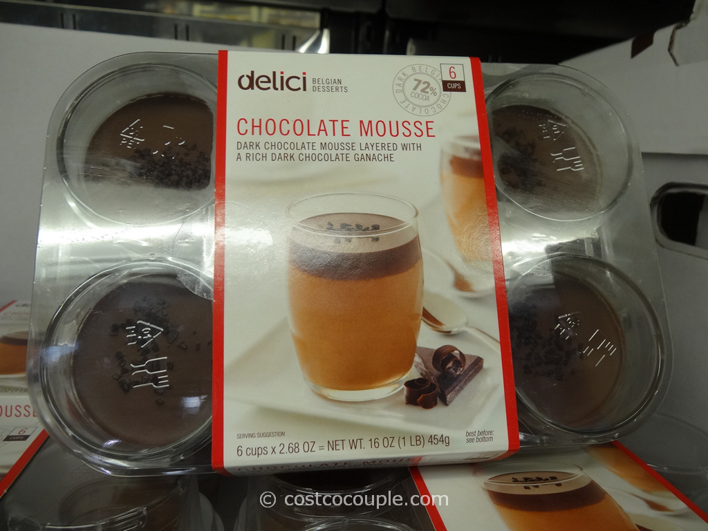Delici Desserts Chocolate Mousse Cups Costco 2