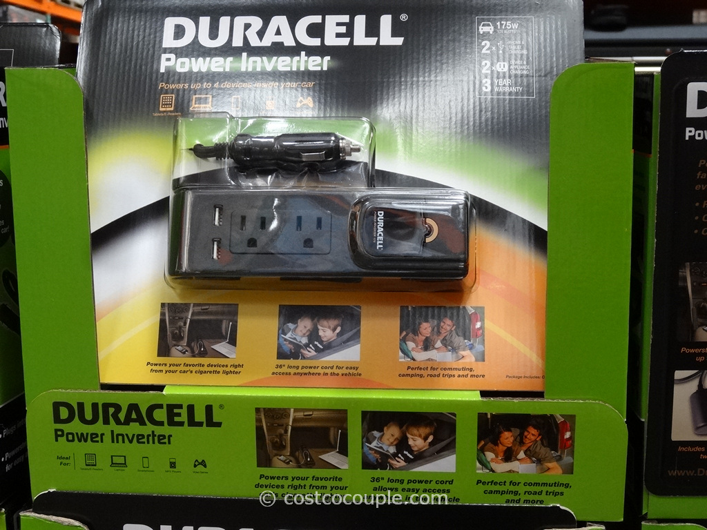 Duracell 175W Power Inverter Costco 4